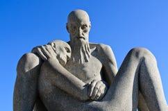 Человек Vigeland 2 стоковая фотография rf