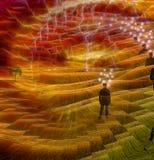 Человеческий разум стоковое изображение