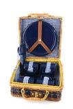 чемодан пикника Стоковые Изображения RF