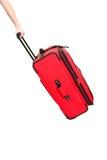 чемодан удерживания руки Стоковые Изображения