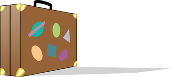 чемодан Стоковая Фотография RF