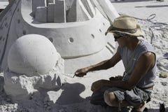 2015 чемпионатов американского песка ваяя стоковое изображение rf