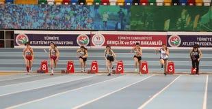Чемпионаты атлетики U20 Turkcell турецкие крытые Стоковое фото RF