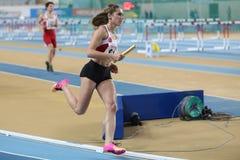 Чемпионаты балканской атлетики крытые Стоковые Фотографии RF
