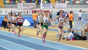 Чемпионаты балканской атлетики крытые Стоковые Изображения