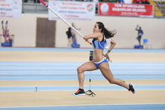 Чемпионаты балканской атлетики крытые Стоковое Фото