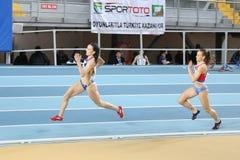 Чемпионаты балканской атлетики крытые Стоковая Фотография RF