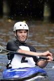 Чемпионаты поло каное Стоковое Фото