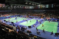 чемпионаты 2011 badminton Азии Стоковая Фотография