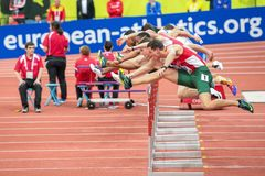Чемпионат 2015 европейской атлетики крытый Стоковое Изображение