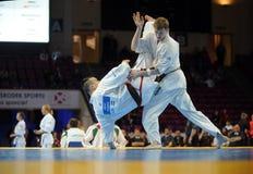 Чемпионат европейца карате Стоковое фото RF