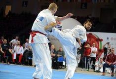 Чемпионат европейца карате Стоковая Фотография RF