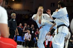 Чемпионат европейца карате Стоковые Изображения RF