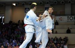 Чемпионат европейца карате Стоковые Изображения