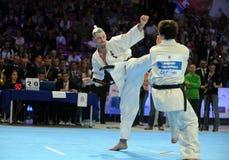 Чемпионат европейца карате Стоковая Фотография