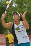 Чемпионат 2014 команды мира тенниса пляжа Стоковое фото RF