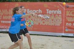 Чемпионат 2014 команды мира тенниса пляжа Стоковая Фотография