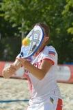 Чемпионат 2014 команды мира тенниса пляжа Стоковые Фото