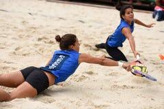 Чемпионат 2015 команды мира тенниса пляжа Стоковое фото RF