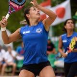 Чемпионат 2015 команды мира тенниса пляжа Стоковая Фотография RF