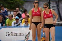 Чемпионат 2015 команды мира тенниса пляжа Стоковое Изображение RF