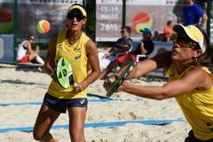 Чемпионат 2015 команды мира тенниса пляжа Стоковое Фото