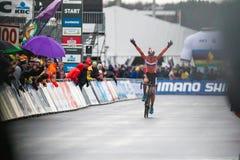 Чемпионат мира Cyclocross - Heusden-Zolder UCI, Бельгия Стоковое Фото