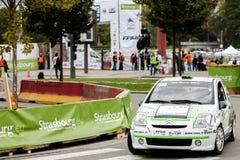 Чемпионат ралли мира Франция FIA 2013 - супер особенный этап 1 стоковое фото rf