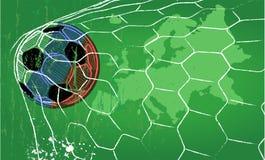 Чемпионат Россия 2018 иллюстрации футбола Стоковые Изображения RF