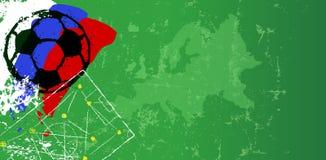 Чемпионат Россия 2018 иллюстрации футбола Стоковое Фото