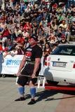 Чемпионат сильного человека Стоковые Фотографии RF
