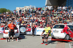 Чемпионат сильного человека Стоковое Фото