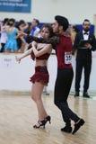 Чемпионат танца сальсы Стоковое Фото
