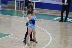 Чемпионат танца сальсы Стоковая Фотография RF