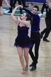 Чемпионат танца сальсы Стоковые Фото