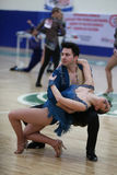 Чемпионат танца сальсы Стоковые Фотографии RF
