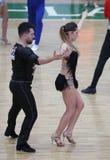 Чемпионат танца сальсы Стоковые Изображения RF
