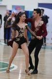 Чемпионат танца сальсы Стоковое Изображение
