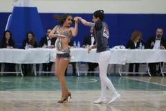 Чемпионат танца сальсы Стоковые Изображения