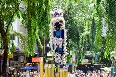 Чемпионат танца льва Стоковое фото RF