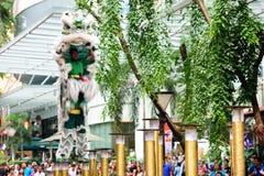 Чемпионат танца льва Стоковая Фотография