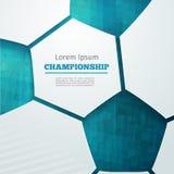 Чемпионат футбола Бесплатная Иллюстрация