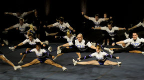 чемпионат 2010 cheerleading Финляндия Стоковое фото RF