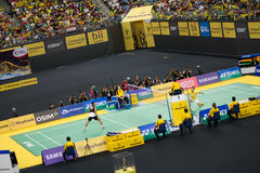 Чемпионат 2013 бадминтона Малайзии открытый Стоковая Фотография
