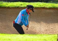 Чемпионат 2016 PGA женщин Лидии Ko KPMG профессионального игрока в гольф дам стоковые фотографии rf