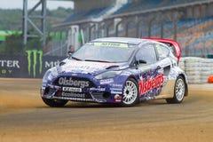 Чемпионат Rallycross мира FIA Стоковые Изображения RF