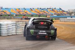 Чемпионат Rallycross мира FIA Стоковое фото RF