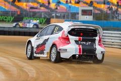 Чемпионат Rallycross мира FIA Стоковые Изображения