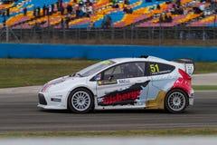 Чемпионат Rallycross мира FIA Стоковое Изображение