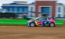 Чемпионат Rallycross мира FIA Стоковые Фотографии RF